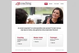 AB Coaching website
