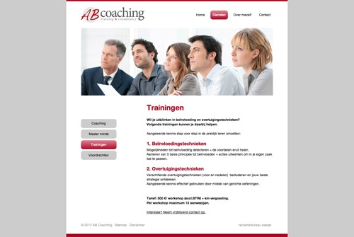 Website AB Coaching