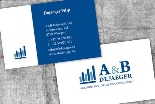 Visitekaartje A&B Dejaeger