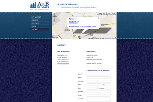 Website A&B Dejaeger