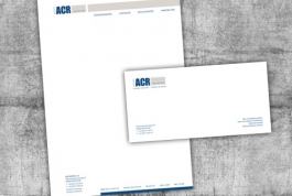 ACR service briefpapier