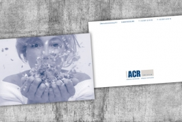 ACR service with compliments card