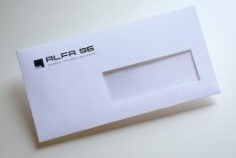 Alfa 96 envelop