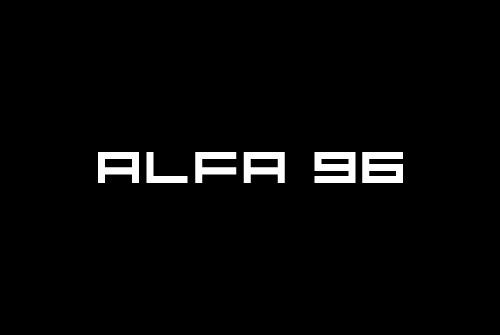 Logo design Alfa 96