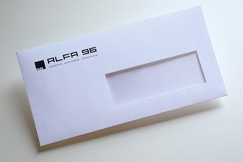 Envelop Alfa 96
