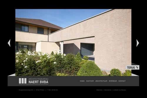 Website Architectenbureau Naert