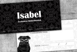 Boetiek Isabel cadeaubon
