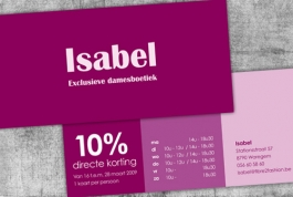 Boetiek Isabel direct mail