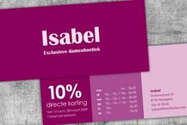 Boetiek Isabel direct mail
