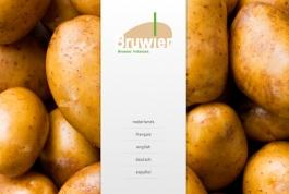 Bruwier Potatoes website