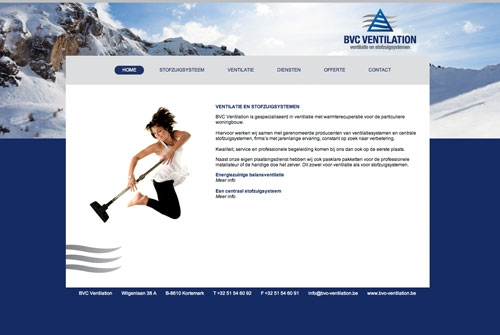 Website BVC Ventilation
