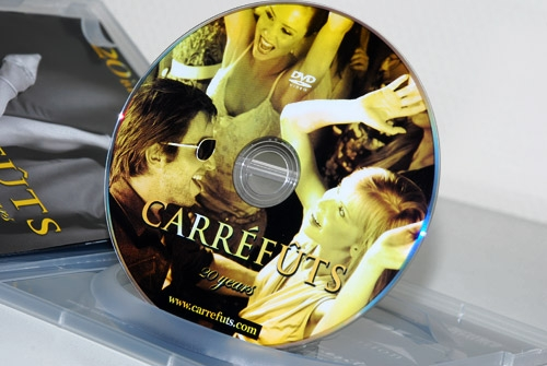 CD-rom of DVD Carréfûts Club