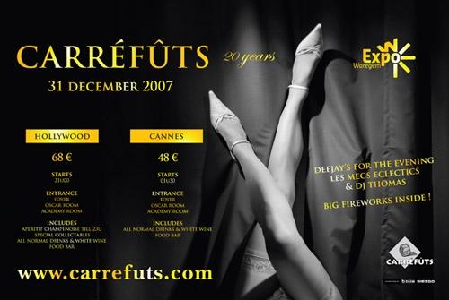 Affiche Carréfûts Club