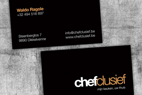 Visitekaartje Chefclusief