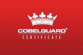 Cobelguard Security logo design