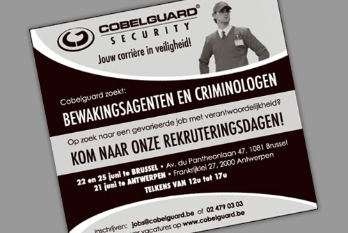 Advertentie Cobelguard Security
