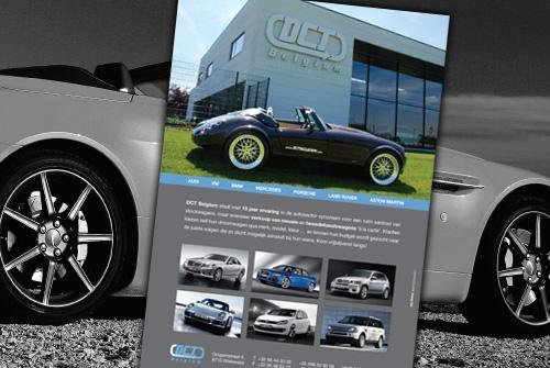 Advertentie DCT Belgium