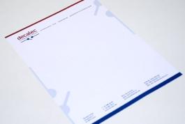 Decalec briefpapier