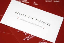 Declerck en Partners visitekaartje