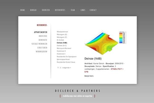 Website Declerck en Partners