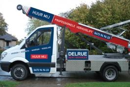 Delrue Rent Services belettering wagenpark