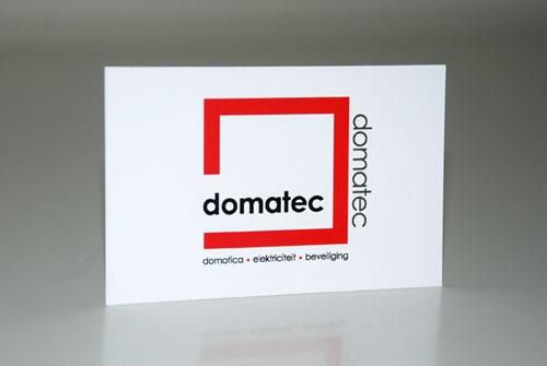 Visitekaartje Domatec