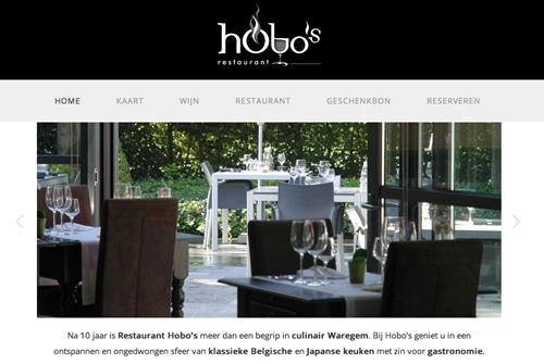 Website Restaurant Hobos