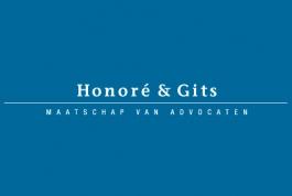 Advocaten Honoré en Gits restyling logo