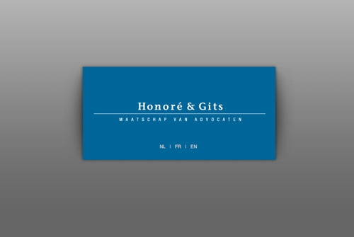 Website Advocaten Honoré en Gits