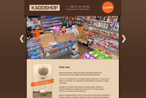 Website Kadoshop
