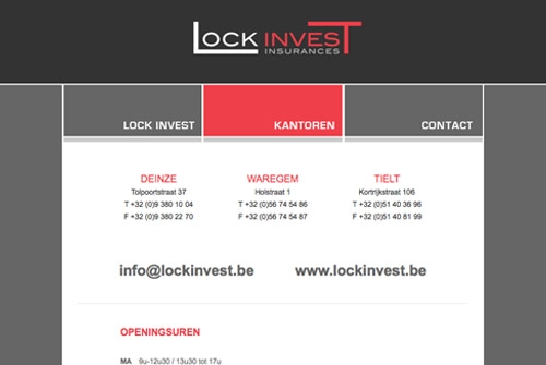 Website Lock Invest