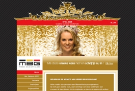 Misses Belgium Globe website