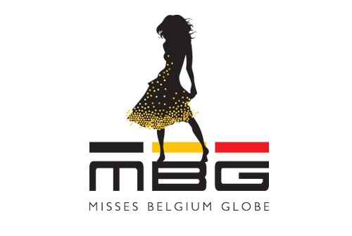 Logo design Misses Belgium Globe