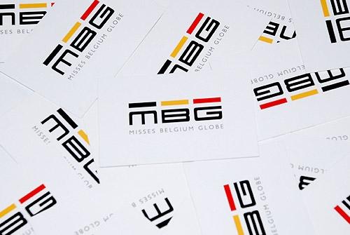 Visitekaartje Misses Belgium Globe