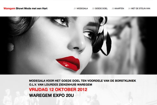 Website Théâtre de la mode