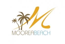 Moorea Beach logo design