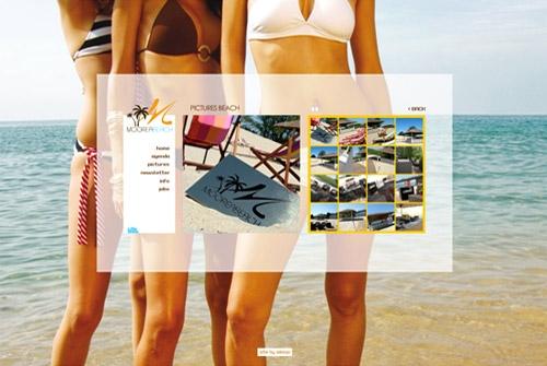 Website Moorea Beach