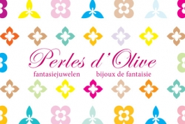 Perles dolives logo design