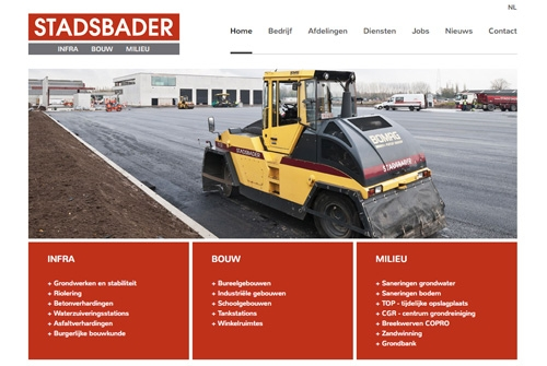Website Stadsbader