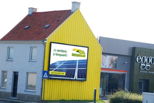 Gevelreclame Vanbo Solar