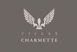Villas Charmette logo design
