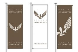 Villas Charmette vlaggen