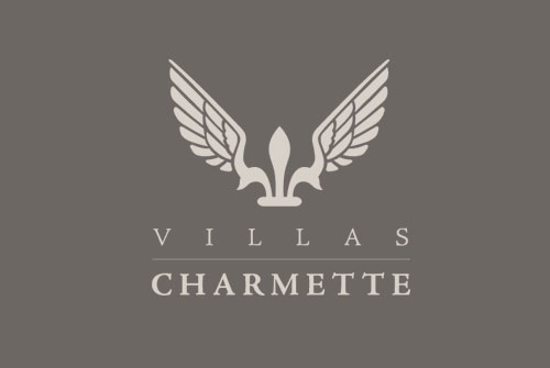Logo design Villas Charmette