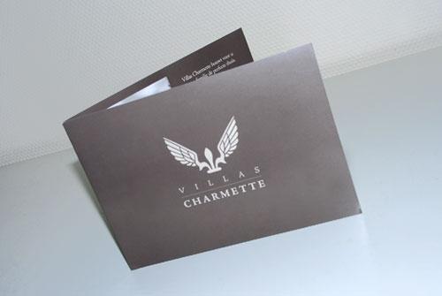 Bedrijfsbrochure Villas Charmette
