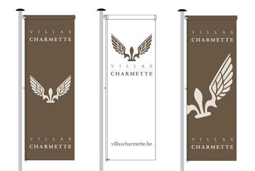 Vlaggen Villas Charmette