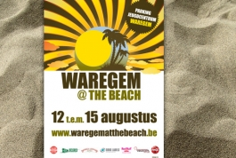 Waregem at the beach flyer