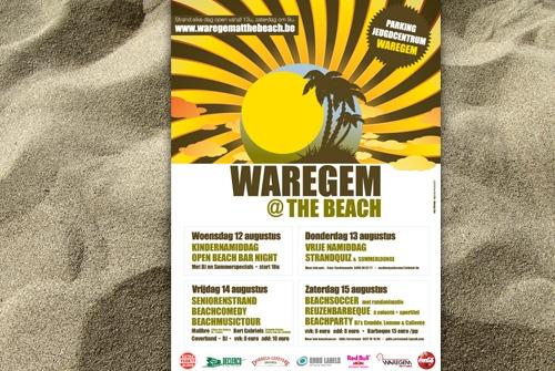 Affiche Waregem at the beach