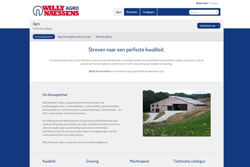 Website Willy Naessens Agro