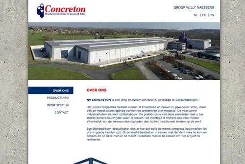 Website Concreton