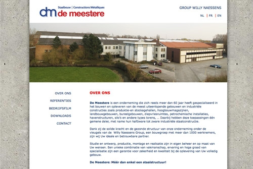 Website Demeestere